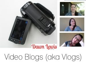 Craft vlog by Dawn Lewis