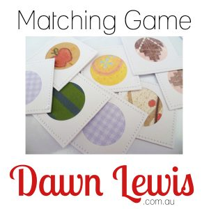 Matching Game Website Thumbnail