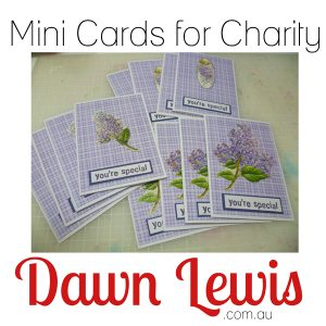 Mini Cards for Charity Website Thumbnail