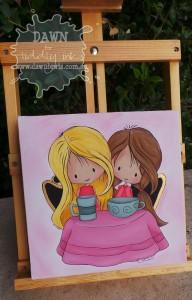 Tea Time Canvas 1