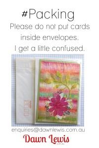 cards inside envelopes 2x3
