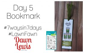 Day 5 bookmark 7ways7days reduced