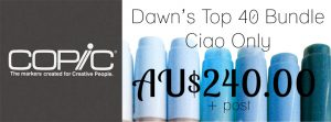 Dawn's Top 40 Copic Bundle - ciao only
