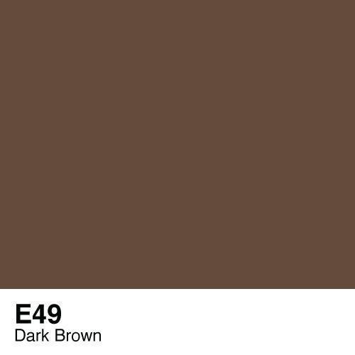 Copic E49 Dark Bark, Australia