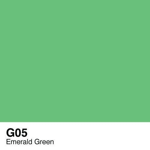 Copic G05 Emerald Green