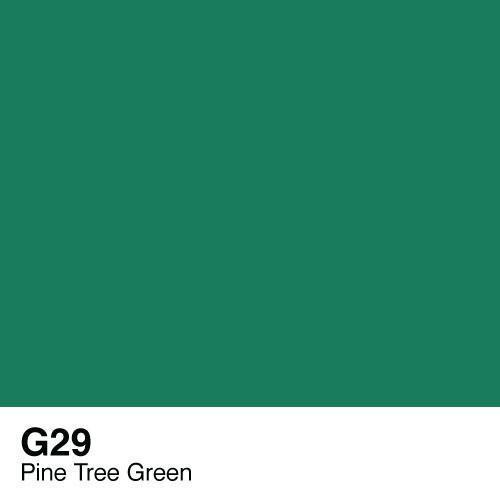 Copic G29 Pine Tree Green