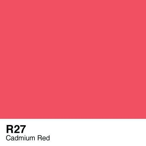 Copic R27 Cadmium Red Sketch marker, Australia