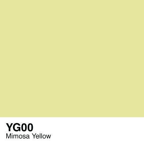 Copic Ciao YG00 Mimosa Yellow, Australia
