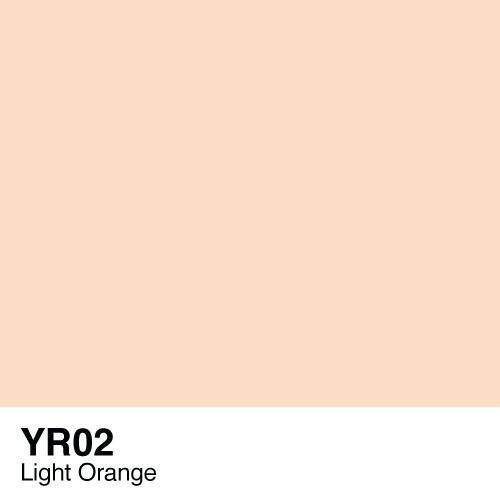 Copic Sketch YR02 Light Orange, Australia