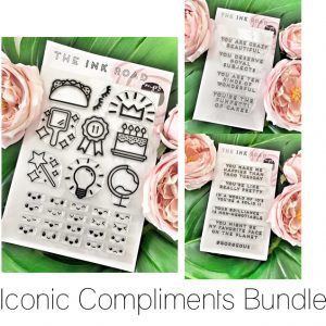 Ink Road Stamps, Iconic Compliments stamp bundle, Australia