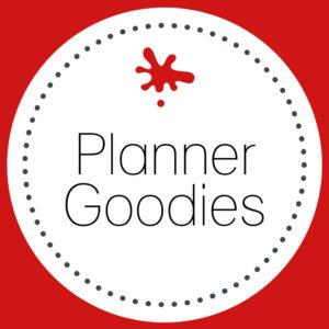 Planner Goodies