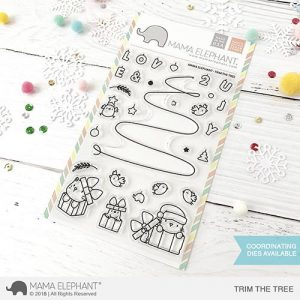Mama Elephant, Trim The Tree stamp set, Australia