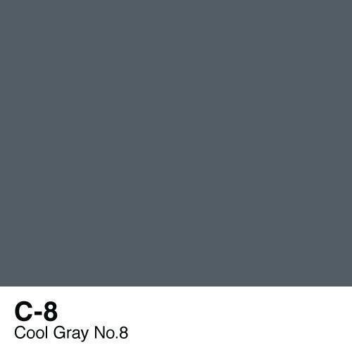 Copic C8 Cool Grey no 8, Australia