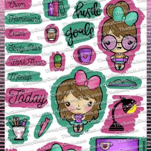 The Sassy Club, Darla Studies stamp set, Australia