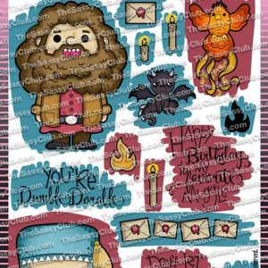 The Sassy Club, Magical Creatures stamp set, Australia