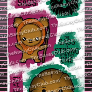 The Sassy Club, Use The Sass stamp set, Australia