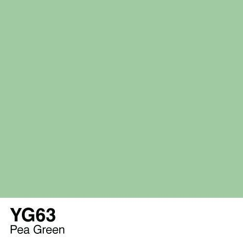 Copic YG63 Pea Green, Australia