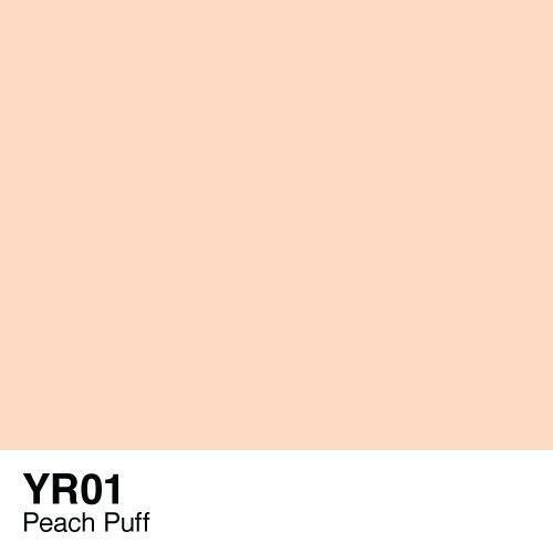 Copic YR01 Peach Puff, Australia