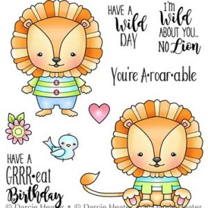Darcie's Heart & Home, No Lion stamp set, Australia