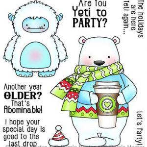 Darcie's Heart & Home, Yeti To Party stamp set, Australia