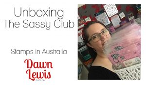 The Sassy Club unboxing video