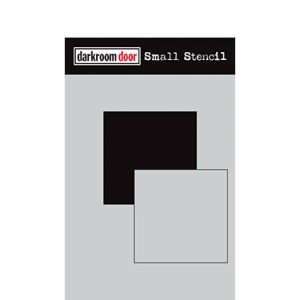 Darkroom Door Square Set stencil, Australia