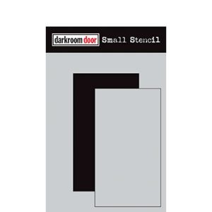 Darkroom Door Rectangle Set stencil, Australia