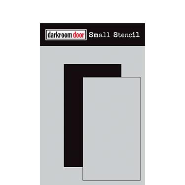 Darkroom Door Rectangle Set stencil, Australia