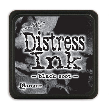 Distress Ink Mini Black Soot