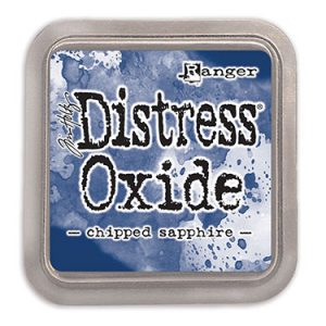 Distress Oxide Chipped Sapphire