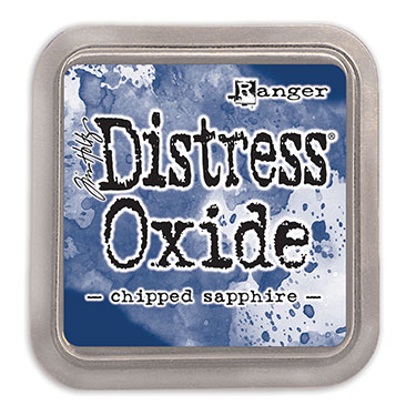 Distress Oxide Chipped Sapphire
