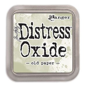 Distress Oxide Old Paper