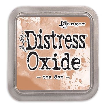 Distress Oxide Tea Dye