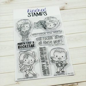 Kindred Stamps, Rock On stamp set, Australia