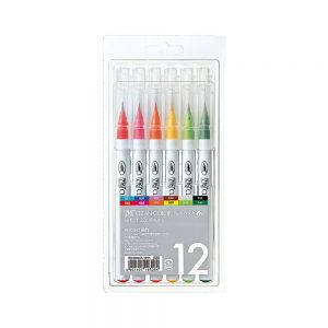 Zig Clean Color Real Brush markers 12 pack, Australia