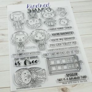 Kindred Stamps, I Need Some Space stamp set, Australia