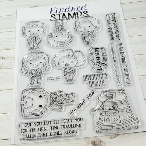 Kindred Stamps, It's About Time stamp set, Australia
