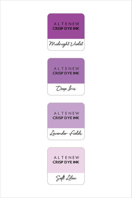 Altenew Mini Cubes Shades of Purple, Australia