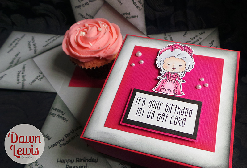 Kindred Stamps, Let Us Eat Cake stamp set, Australia