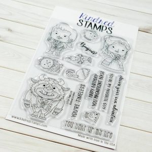 Kindred Stamps, Little Town Life stamp set, Australia