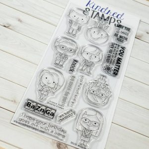 Kindred Stamps, Science Geeks stamp set, Australia