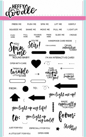 Heffy Doodle, Interactively Yours stamp set, Australia