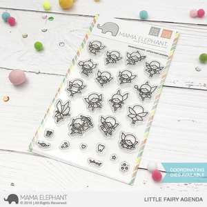 Mama Elephant, Little Fairy Agenda stamp set, Australia