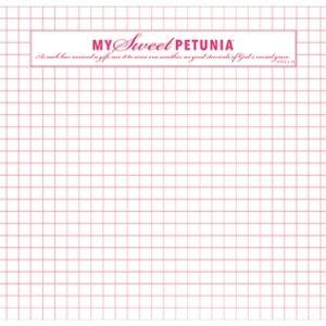 My Sweet Petunia, Misti, Original size grid paper pad, Australia