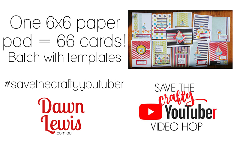Save The Crafty YouTuber Video Hop May 2019