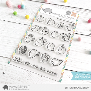Mama Elephant, Little Boo Agenda stamp set, Australia