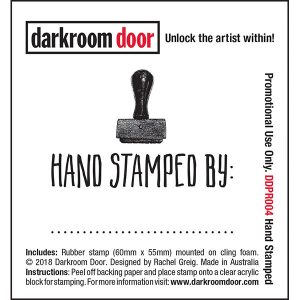 Darkroom Door, Handstamped, Australia