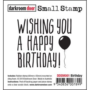 Darkroom Door, Small Stamp - Birthday, Australia