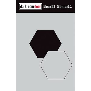 Darkroom Door, small stencil - hexagon, Australia