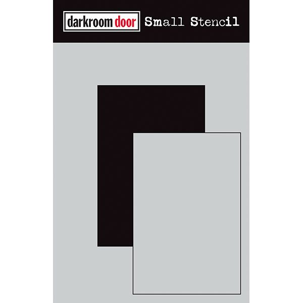 Darkroom Door, small stencil - short rectangle, Australia
